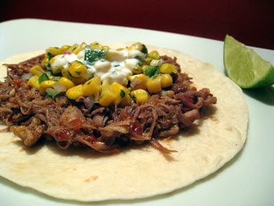 Dining With The Doc: Braised Pork Tacos with Corn Jalapeno Salsa