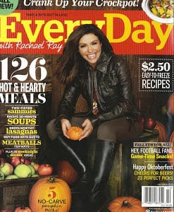 Recipes Published in Every Day with Rachel Ray Magazine