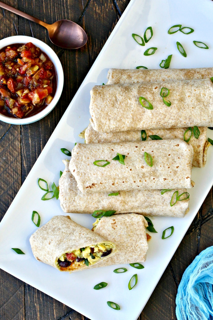 Jump-Start Your Day Breakfast Burritos