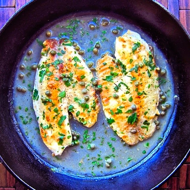 Dining with the doc tilapia piccata the foodie physician dining with the doc tilapia piccata forumfinder