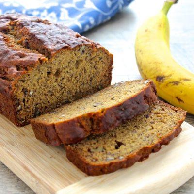 Banana Flax Bread