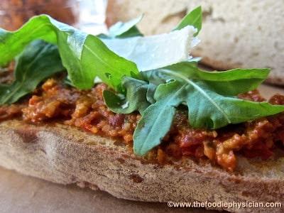 Pesto Rosso | @foodiephysician