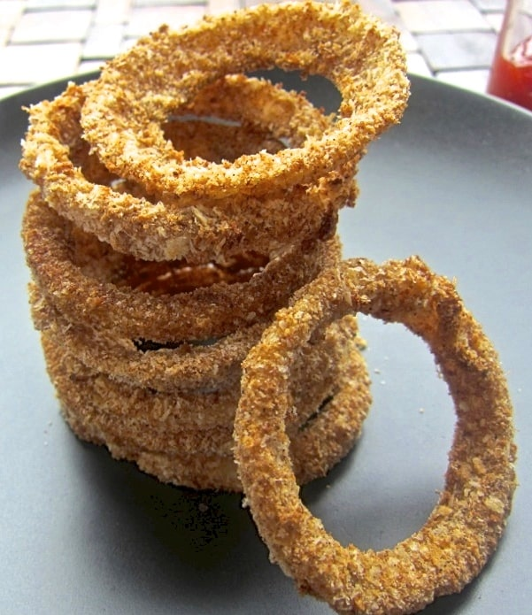 Crispy Oven Baked Onion Rings