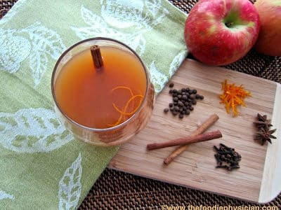 Dining with the Doc: Mulled Apple Cider