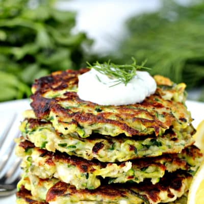 Dining with the Doc: Greek Zucchini Fritters