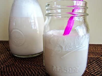 Ingredient 911: Almond Milk