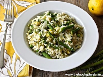 Dining with the Doc: Lemon Risotto with Spring Vegetables