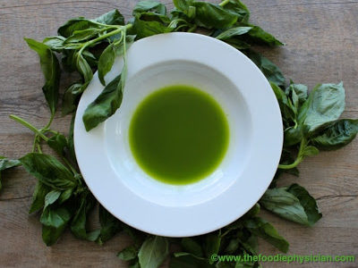 The Doctor is in the Kitchen Q&A: Basil Oil
