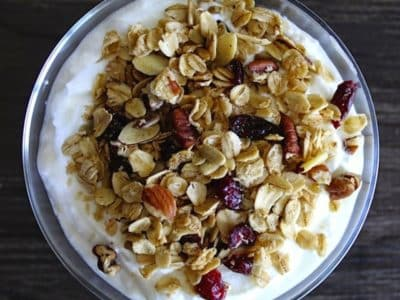 Dining with the Doc: Coconut Maple Granola