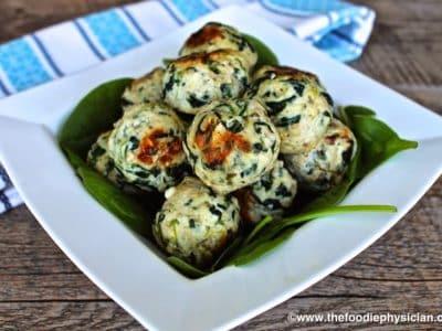 Cook Once, Eat Twice: Greek Chicken Meatballs