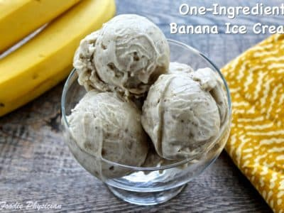 Dining with the Doc: One-Ingredient Banana Ice Cream