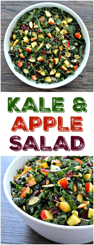 Tuscan Kale & Apple Salad