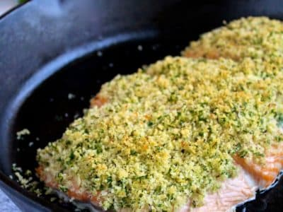 Dining with Doc: Salmon Oreganata