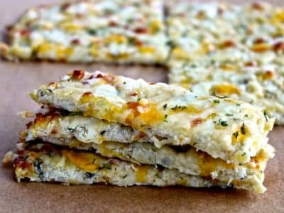 Dining with the Doc: Cauliflower Cheesy Bread