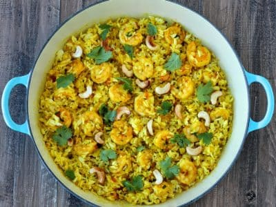 Dining with the Doc: Shrimp Biriyani