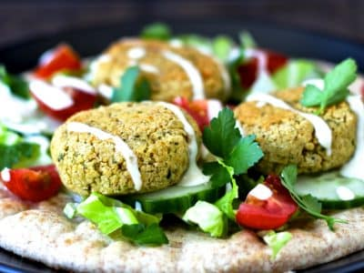 Dining with the Doc: Baked Falafel