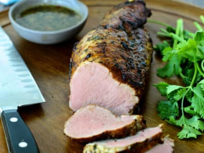 Dining with the Doc: Mojo Pork Tenderloin