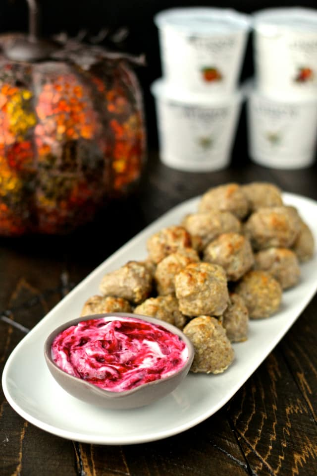 #thereciperedux #siggis #meatballs #cranberrysauce