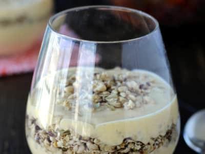 Dining with the Doc: 4 Ingredient Pumpkin Spice Yogurt Parfaits