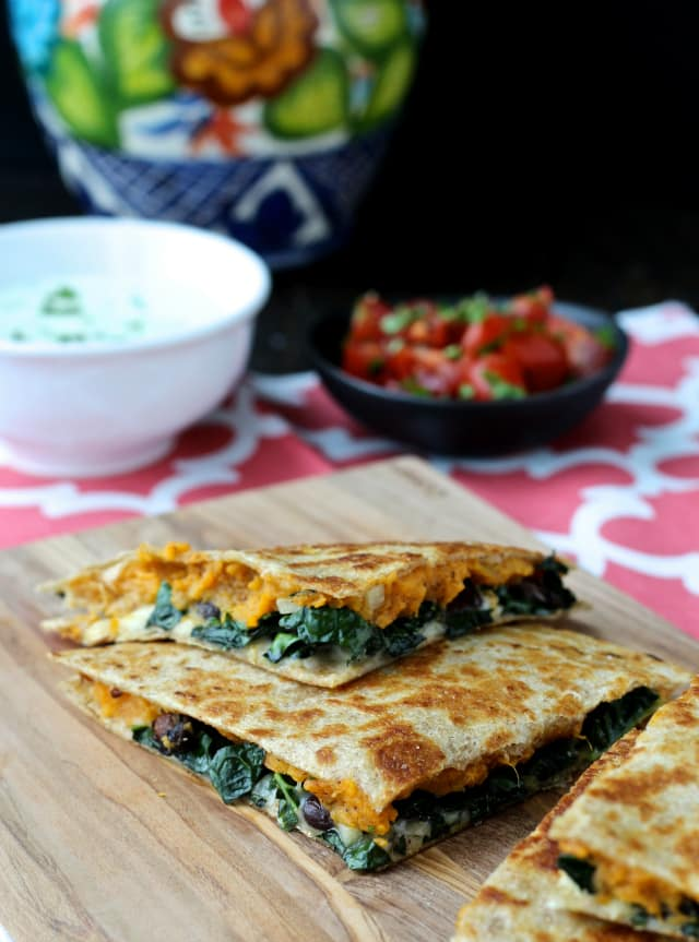 #quesadilla #cabotcheese #sweetpotato #kale