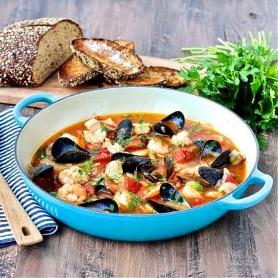 Sunshine State Cioppino (Seafood Stew)