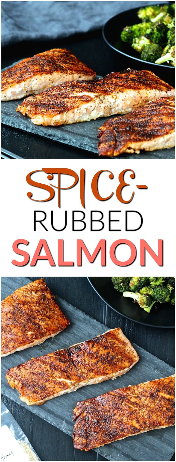 Spice-Rubbed Salmon   @foodiephysician