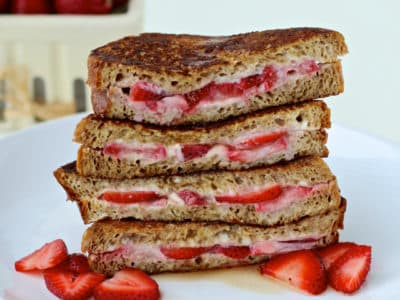 Dining with the Doc: Strawberry Stuffed French Toast
