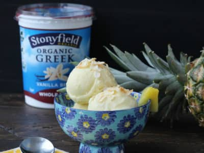 Dining with the Doc: Stonyfield Whole Milk Greek Yogurt