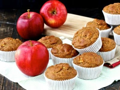 Dining with the Doc: Apple Cardamom Muffins