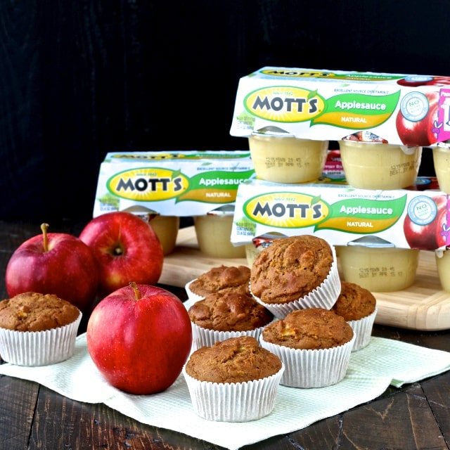 #applesauce #applemuffins #bakeitwithmotts #collectivebias