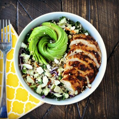 Dining with the Doc: Wild Greens & Quinoa Grain Bowl