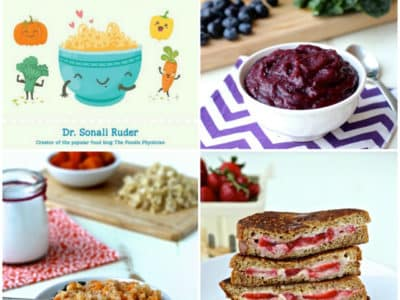 """Reading with the Doc: """"Natural Baby Food"""" and Purple Power Puree"""