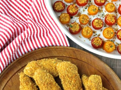 Dining with the Doc: Curried Chicken Tenders and Crispy Tomato Poppers