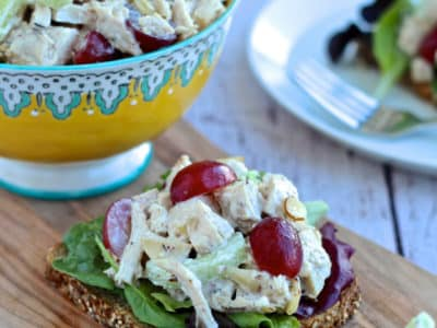 Dining with the Doc: Chicken Salad with a Twist