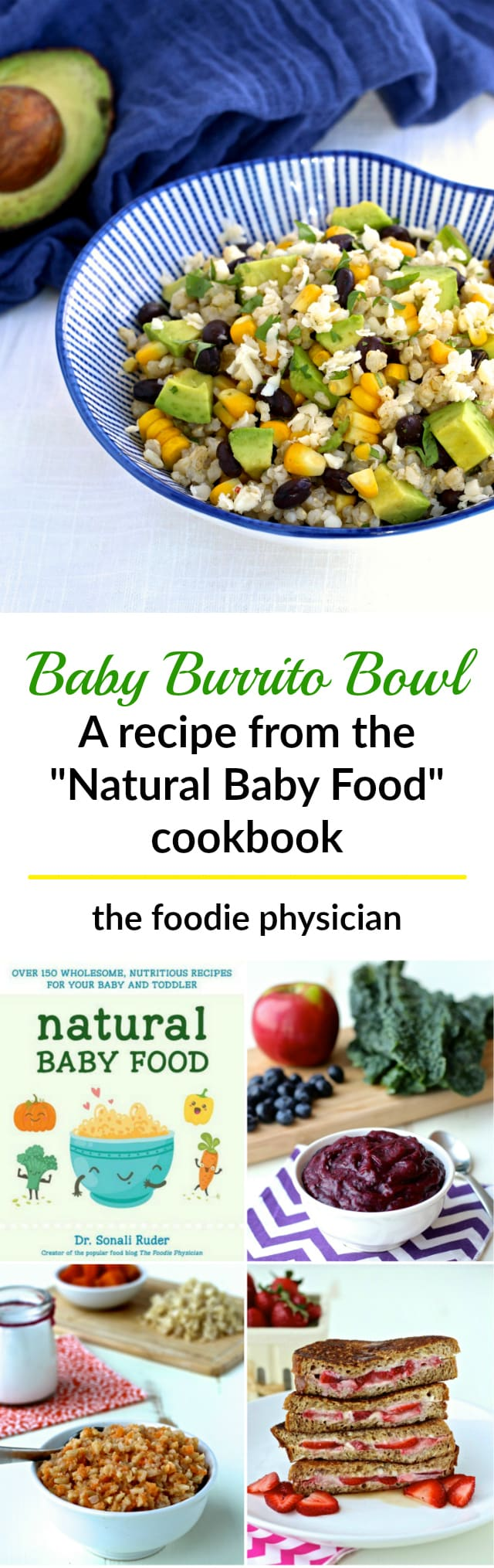 Natural baby food and a tiger rice cooker giveaway the foodie baby burrito bowl from the forumfinder Images