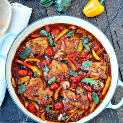 Quick and Easy Chicken Cacciatore