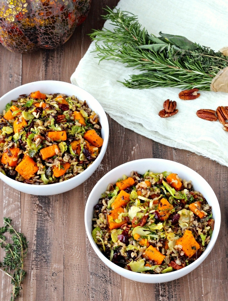 Harvest Rice Bowls- whole grain bowls that are packed with fresh flavor and nutritious ingredients | @foodiephysician