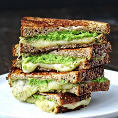 Grilled Cheese with Avocado Pesto