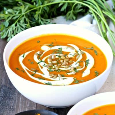 Immunity-Boosting Carrot Turmeric Soup