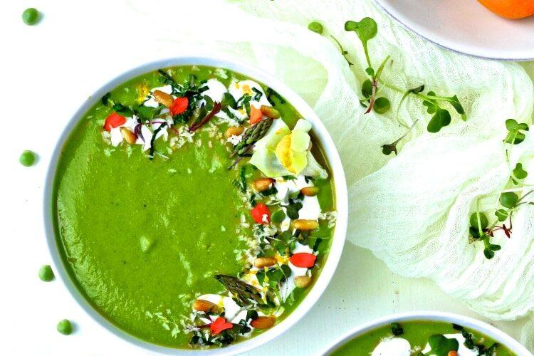 Green Spring Vegetable Soup