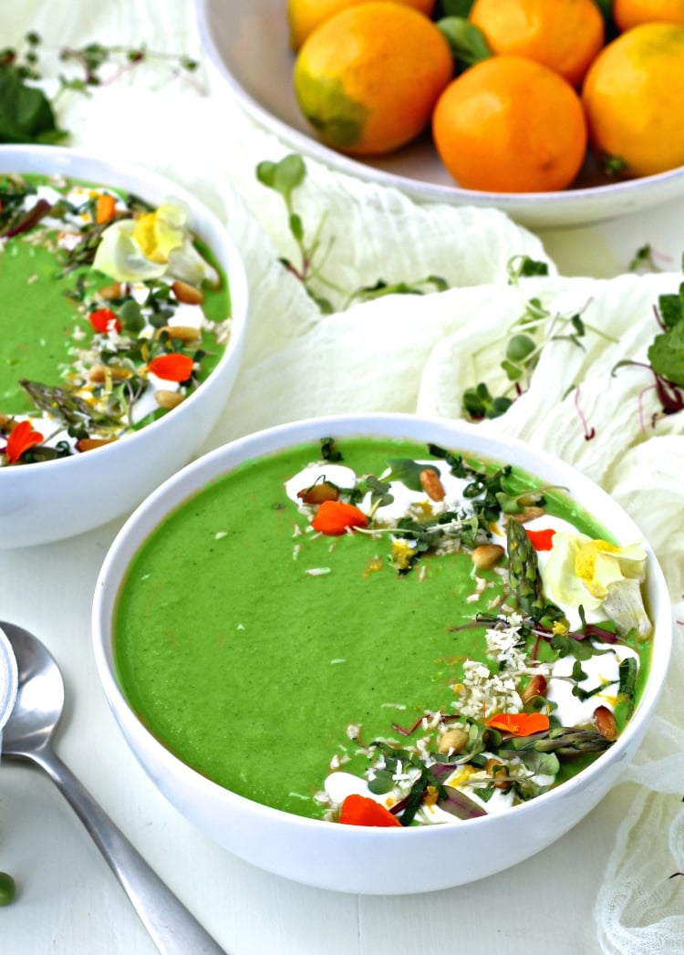 Green Spring Vegetable Soup   @foodiephysician