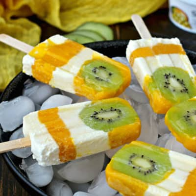 5 Healthy Eating Tips For Kids and Tropical Sunshine Popsicles
