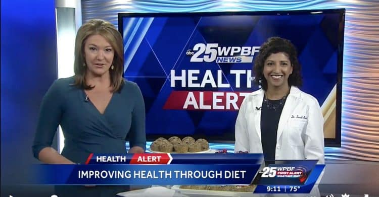 TV News Segment: Healthy Breakfast Dishes | @foodiephysician