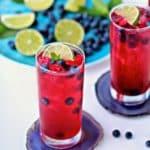 Blueberry Mint Limeade