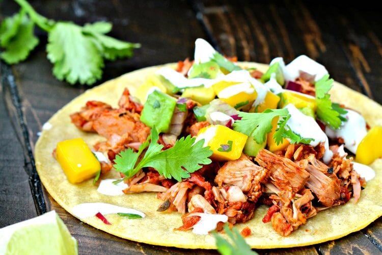 Slow Cooker Jackfruit Tacos