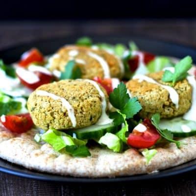 Baked Falafel | @foodiephysician