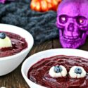 Spooky Blueberry Eyeball Soup