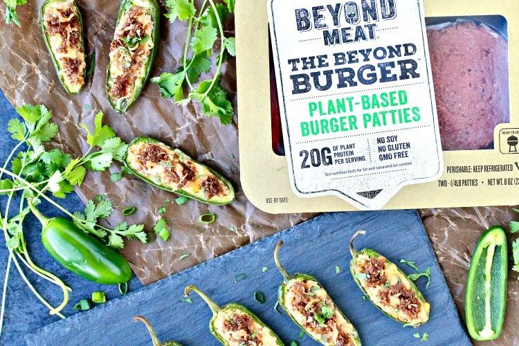 Beyond Burger Jalapeño Poppers