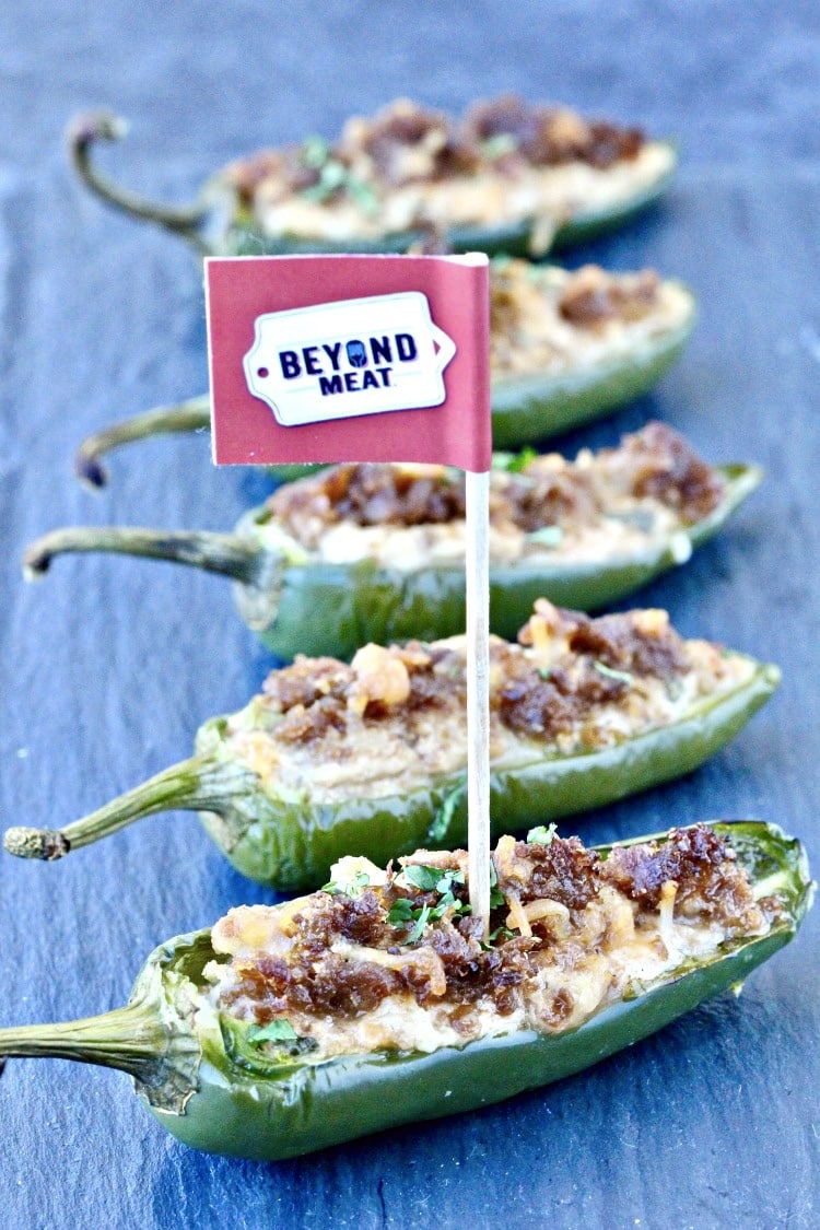 Beyond Burger Jalapeño Poppers