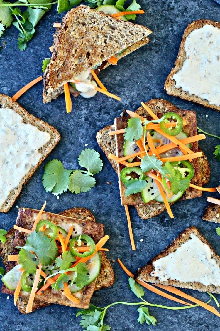 Crispy Tofu Banh Mi